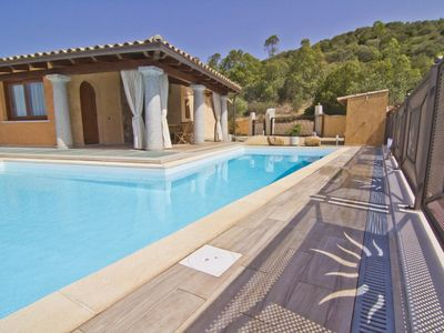 Photo for Chia South Sardinia detached panoramic villa with private pool