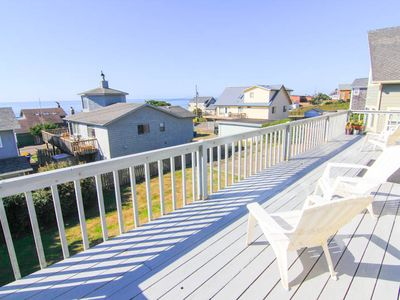 Photo for Spacious Great Room and Two King Bedrooms in this Roads End Ocean-View Home