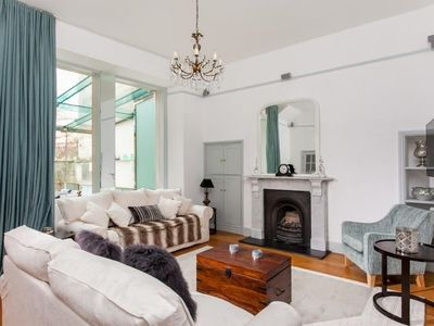 Photo for This beautiful 2 bedroom, 2 bathroom city retreat in a handsome Georgian main street in central Bath