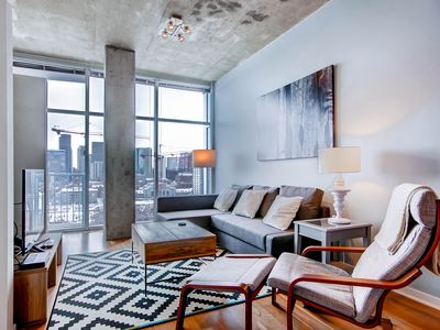 Photo for Luxury Urban Condo, Downtown at the Glass House