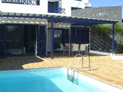 Photo for Holiday home in FIRST ROW in Playa Blanca