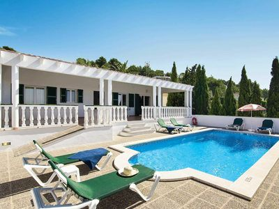 Photo for 3 bedroom Villa, sleeps 6 in San Jaime Mediterráneo with Pool, Air Con and WiFi