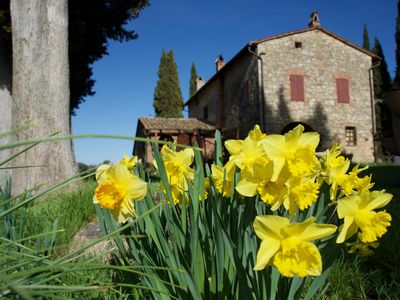 Photo for Holiday apartment Cetona for 2 - 6 persons with 2 bedrooms - Farmhouse