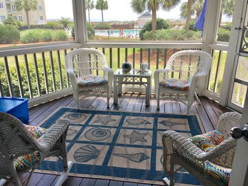 "First Floor/Oceanfront/Oceanview ~ Available 3/25-3/29 ~105+ ""5 Star"" Reviews."