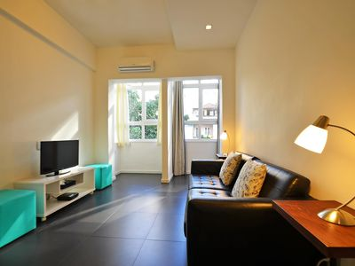 Photo for Modern and silent 2 bedrooms apartment up to 6 people at posto 5 in Copacabana