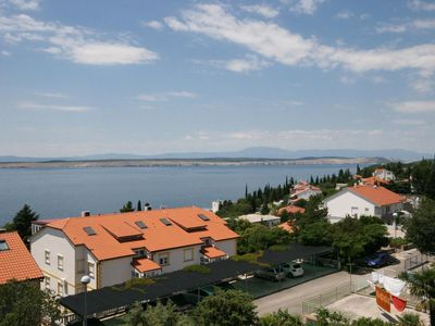 Photo for One bedroom apartment with balcony and sea view Dramalj (Crikvenica)