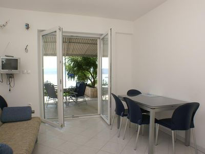 Photo for One bedroom apartment with air-conditioning Stanići, Omiš (A-2763-b)