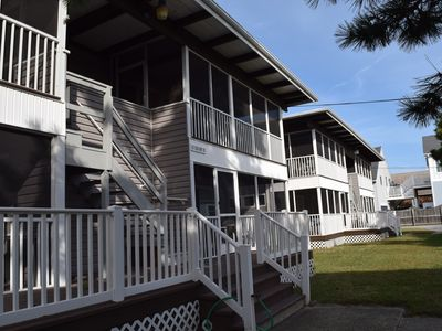 Photo for OCEAN BLOCK AFFORDABLE CONDO! Adorable 2BR 1BA condo just steps to the beach and Dewey Beach!