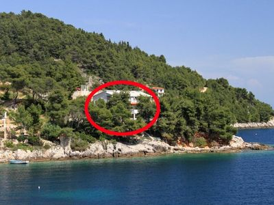Photo for Two bedroom apartment near beach Cove Torac bay - Torac (Hvar)
