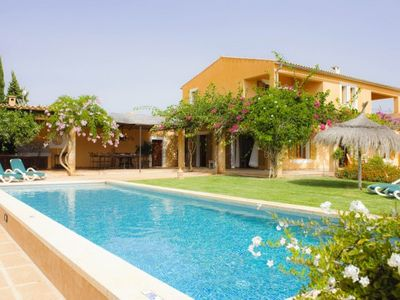Photo for 5 bedroom Villa, sleeps 10 in Cas Concos with Pool and Air Con