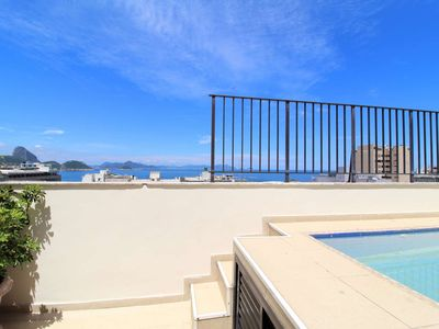 Photo for CaviRio - Penthouse with private pool - Copacabana (F1106)