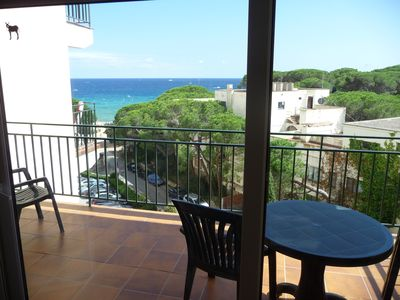 Photo for La Fosca - Apartment 4 people - sea view Direct access to the beach