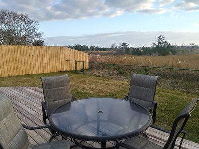 Photo for Privacy + Views! 2.4 miles to Mayo Clinic, 2.9 miles to the beach or Mayport NAS