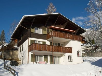 Photo for Apartment Pony 5-Bettwohnung in Lenk - 5 persons, 2 bedrooms