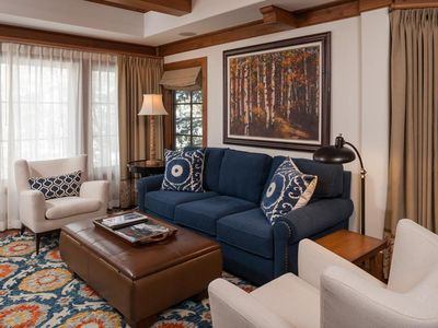 Photo for Willows 101: luxury two bedroom – premier location Vail Village