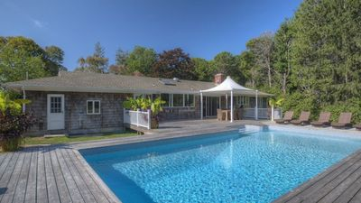 Photo for Modern & Minimalist Beauty on the Best Block in East Quogue, Private Pool, Steps from Phillips Point