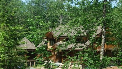 Surrounded by nature yet only 2 minutes drive to Tremblant south side action!