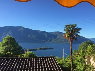 Photo for Apartment Casa Rita - Vista Isole Brissago in Ronco sopra Ascona - 4 persons, 1 bedrooms