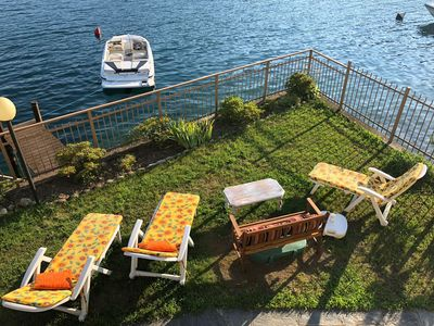 Photo for NEWLY ADDED! Lake-Front Apartment at beautiful Lake Orta, sleeps 4-6.