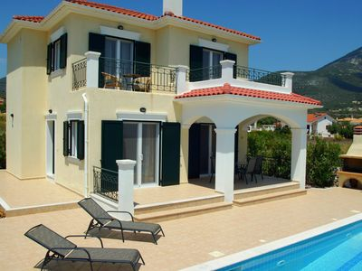 Photo for Luxury Kefalonia Villa With Private Pool and Glorious Views