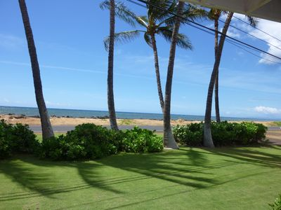 Photo for Ocean Front..Hale Kekaha Palms at the Beach...Air Conditioned  -  TVNCU #1004