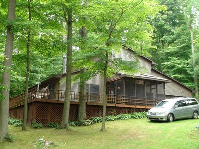 Photo for Spacious getaway on Lake Henry