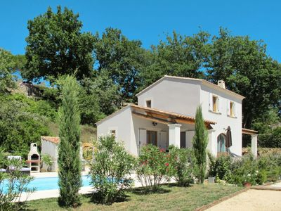 Photo for 3 bedroom Villa, sleeps 6 in Saint-André-de-Roquepertuis with Pool, Air Con and WiFi