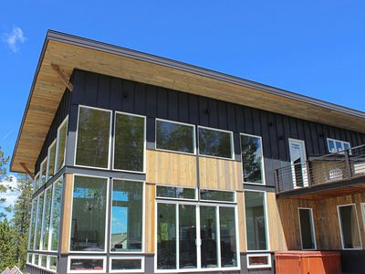 """Photo for Brand New Luxury """"Glass House"""", Pano Views, 4th of July open, Events allowed!"""