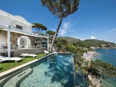 Photo for Marina del Cantone Villa, Sleeps 12 with Pool, Air Con and WiFi