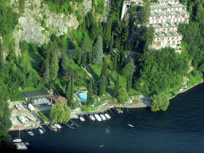 Photo for Holiday home with balcony, for 2-4 people, by lake Como near Pognana Lario