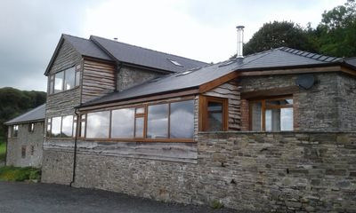 Photo for Vale Walnut - Sleeps 6  on working farm with indoor swimming pool, dog friendly