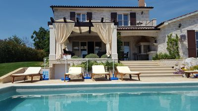 Photo for Istrian Villa vith pool and view on vineyards