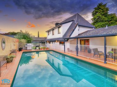 Photo for Family home with a large pool overlooking Lake Albert