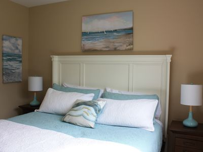 Photo for Beach Themed Getaway! w/pool and lake view at Playa del Sol