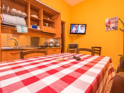 Photo for In the heart of cefalu 'within walking distance of the beach, sleeps 6