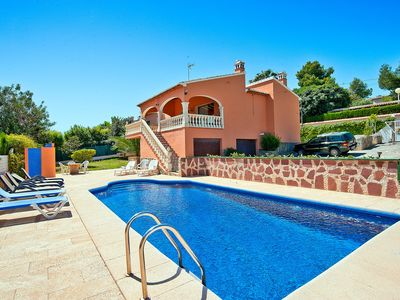 Photo for This 5-bedroom villa for up to 10 guests is located in Javea and has a private swimming pool........