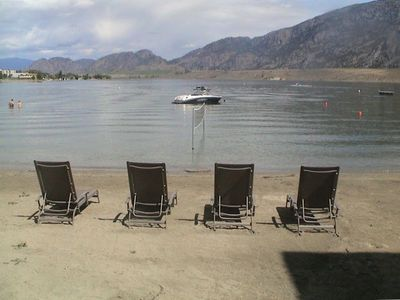 Photo for If you are looking for the BEST BEACH in OSOYOOS ...this is it.