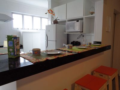 Photo for 1BR Apartment Vacation Rental in São Vicente, SP