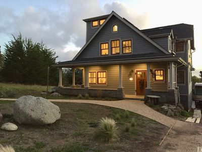Photo for Point Montara House,  Nestled High on a Hill Overlooking Ocean & Coast