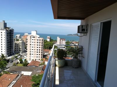 Photo for Apartamento vista ao mar, praia do Tombo