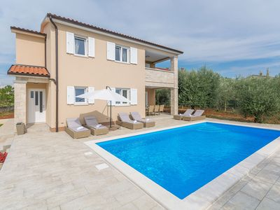 Photo for Modern newly built Villa in a beautiful location with private pool and  garden