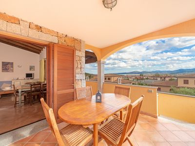 Photo for Villa with Air Conditioning, Garden and Terrace with Sea View; Parking available