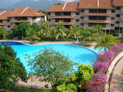 Photo for Well appointed 2 bed apartment on secure and friendly development in Kuah.