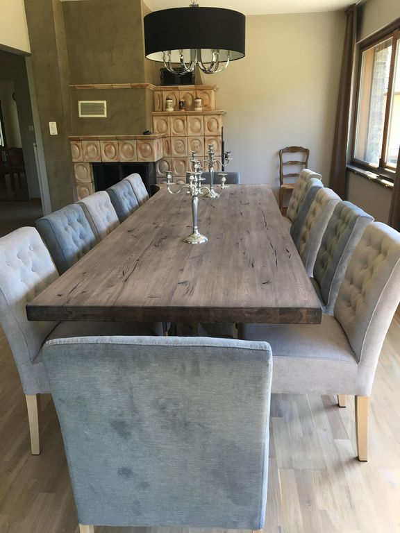 chalet suzy charming luxury rental capaci homeaway - Table A Manger 12 Personnes