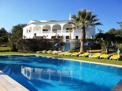 Photo for Villa Silves Deluxe is a nine bedroom villa with seven bathrooms and lots of amenities including a s