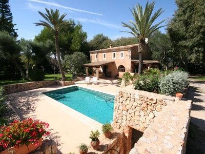 Photo for Very nice'Familienfinca' WiFi, pool, terraces, garden, BBQ, beach