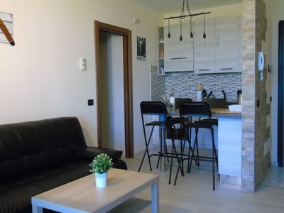 Photo for BOOMERANG FULLY RENOVATED ONE-BEDROOM APARTMENT CLOSE TO THE GARDA LAKE