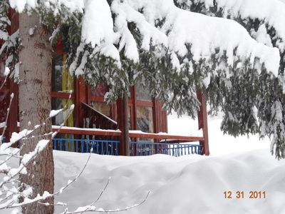 Photo for Arc 1800 - Apt 6 pl, 2 bedrooms, and return on skis,