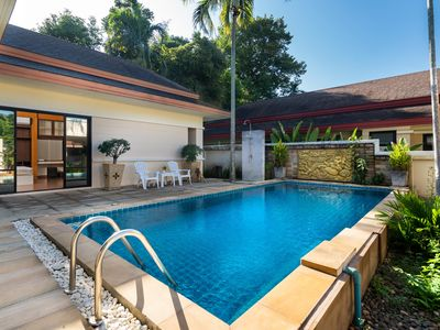 Photo for Pool Villa with Parking, WiFi, King-beds