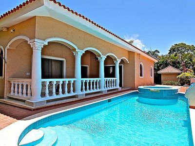 Photo for Guest-friendly villa complex in gated beachfront residence, 6BD 6BTH
